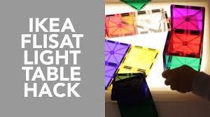 loveparenting light table hack from our homeschool youtube