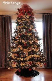note songs oh christmas tree