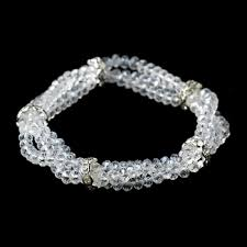 rhinestone bands clear row rhinestone bands bracelet 7253