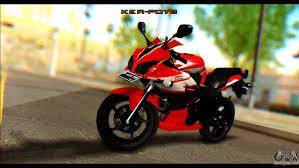 honda bikes cbr 150 honda all new cbr150r for gta san andreas