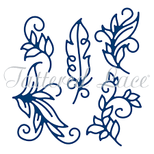 tattered lace die ornamental flourishes
