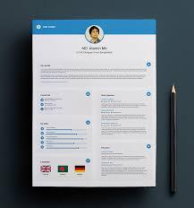 free resume design templates circles resume template free vector