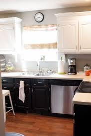 black and white kitchen cabinets benjamin moore black winter