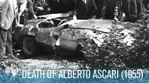 si e auto monza of alberto ascari on the monza eni circuit 1955