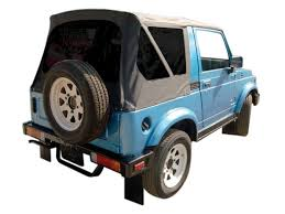 suzuki samurai with a rampage products soft top available in
