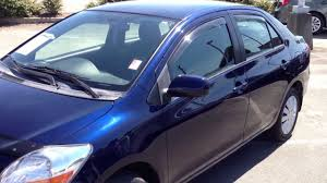 sold 2007 blue toyota yaris sedan 13891c for sale at valley