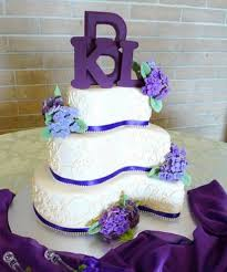 diy purple wedding cakes designs wedding idea