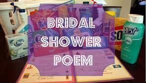 bridal shower gift poems gingerbabymama practical bridal shower gift