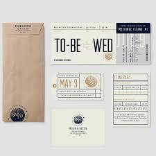 Boarding Pass Wedding Invitation Card Boarding Pass Destination Wedding Invitation Suite