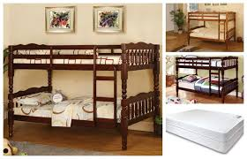 Bunk Bed With Mattress Cm Bk606 Bunk Bed With 2 Mattress Package