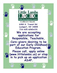 little lambs child care center home