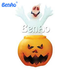 online get cheap inflatable halloween pumpkin aliexpress com