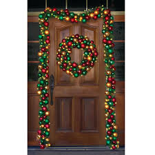 outdoor outdoor lighted wreath cordless in addition to