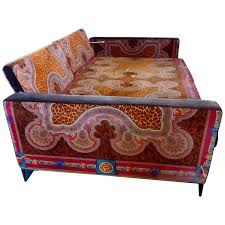 Fainting Sofa For Sale Movie Star Vintage Versace Daybed Couch At 1stdibs