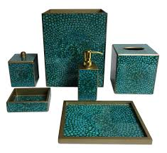 Brown Bathroom Accessories Brown Bathroom Accessories 6 Charming Turquoise Bathroom