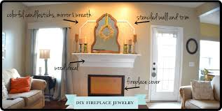 fireplace cover up lovely decoration fireplace cover up lofty design ideas new