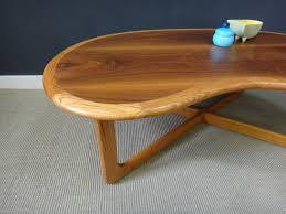 kidney bean shaped table wood and glass kidney shaped coffee table tables vi thippo
