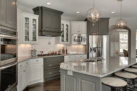 gray countertops with white cabinets top 25 best white granite colors for kitchen countertops
