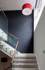 stair treads carpet staircase transitional with beige wall carpet