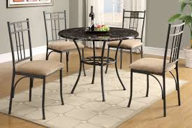 dining table with metal chairs equipped metal dining room chairs nhfirefighters org