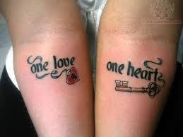 lock and key on wrist tattoomagz