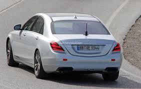 2018 mercedes benz s class flaunts its subtle facelift autoevolution