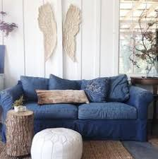 cindy crawford beachside sofa cindy crawford home beachside blue denim sofa better blue sofa