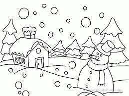 winter holiday coloring sheets coloring home