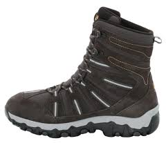 jack wolfskin snow trekker texapore men u0027s winter shoes black
