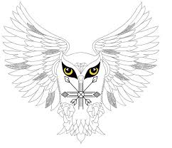 tribal owl tattoo tribal owl tattoo by duckyrun2 on deviantart