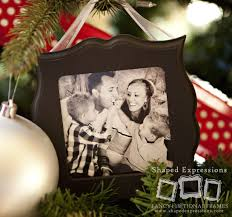 photo ornament 4x4 frame poppy seed projects