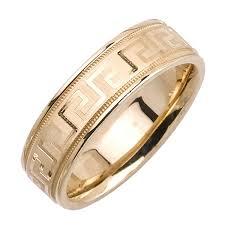 wedding ring depot 14k yellow gold key unique band 6 5mm 3000908 shop at
