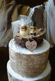 owl cake toppers owls wedding cake topper barn owls cake topper rustic cake topper