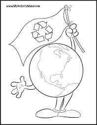 coloring pages earth kids coloring