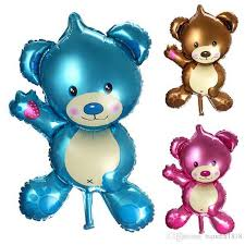 teddy balloons 32 baby shower foil balloon air balloons birthday party decoration