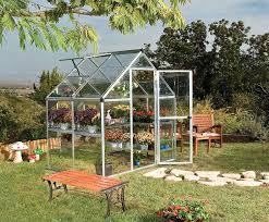 Palram Hybrid Greenhouse Amazon Com Palram Nature Series Harmony Hobby Greenhouse 6 X 4
