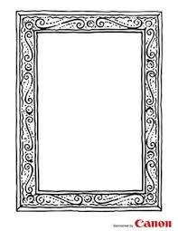 frame 2 free printable coloring pages frames pinterest