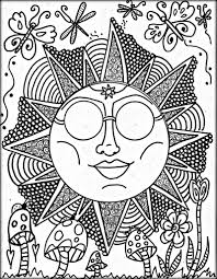 trippy coloring pages printable for adults color zini