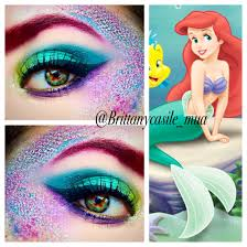 Eye Halloween Makeup by The Little Mermaid Inspired Halloween Makeup Brittanycasile Mua