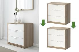 ikea askvoll hack can i stack and connect two askvoll 3 drawer chests ikea hackers