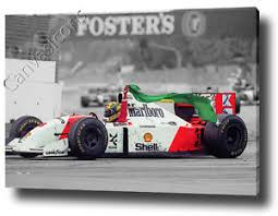ayrton senna canvas sketch print poster photo wall art f1 formula