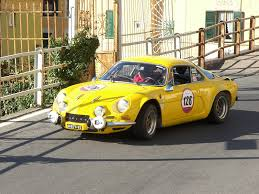 renault alpine renault alpine a110 yellow renault