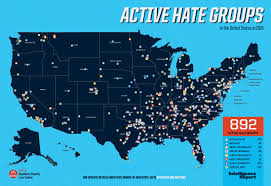 Dry Counties In Usa Map by Active Groups In The United States In 2015 Southern Poverty
