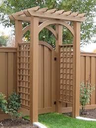 Backyard Gate Ideas Backyard Gate Viverati