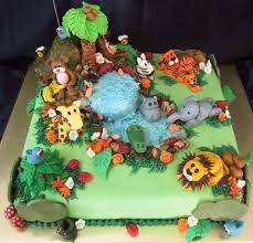 jungle themed baby shower baby shower cake ideas jungle theme unique jungle cakes decoration