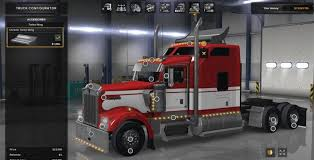 volvo truck configurator long frame for w900 daycab wing unlocked mod euro truck