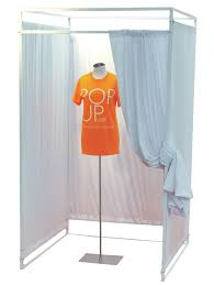 Fitting Room Curtains Fitting Room W Curtains Pop Up Retail Store Wm Prager Ltd Toronto
