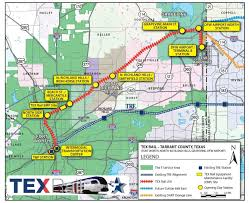 Ft Worth Map By 2018 In Tarrant County You Can Take A Train To Catch Your