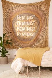 Wall Tapestry Urban Outfitters by Feminist Medallion Tapestry Urban Outfitters