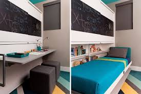 Desk Converts To Bed Home Office Desk Nooks Offer A Solution For Small Spaces